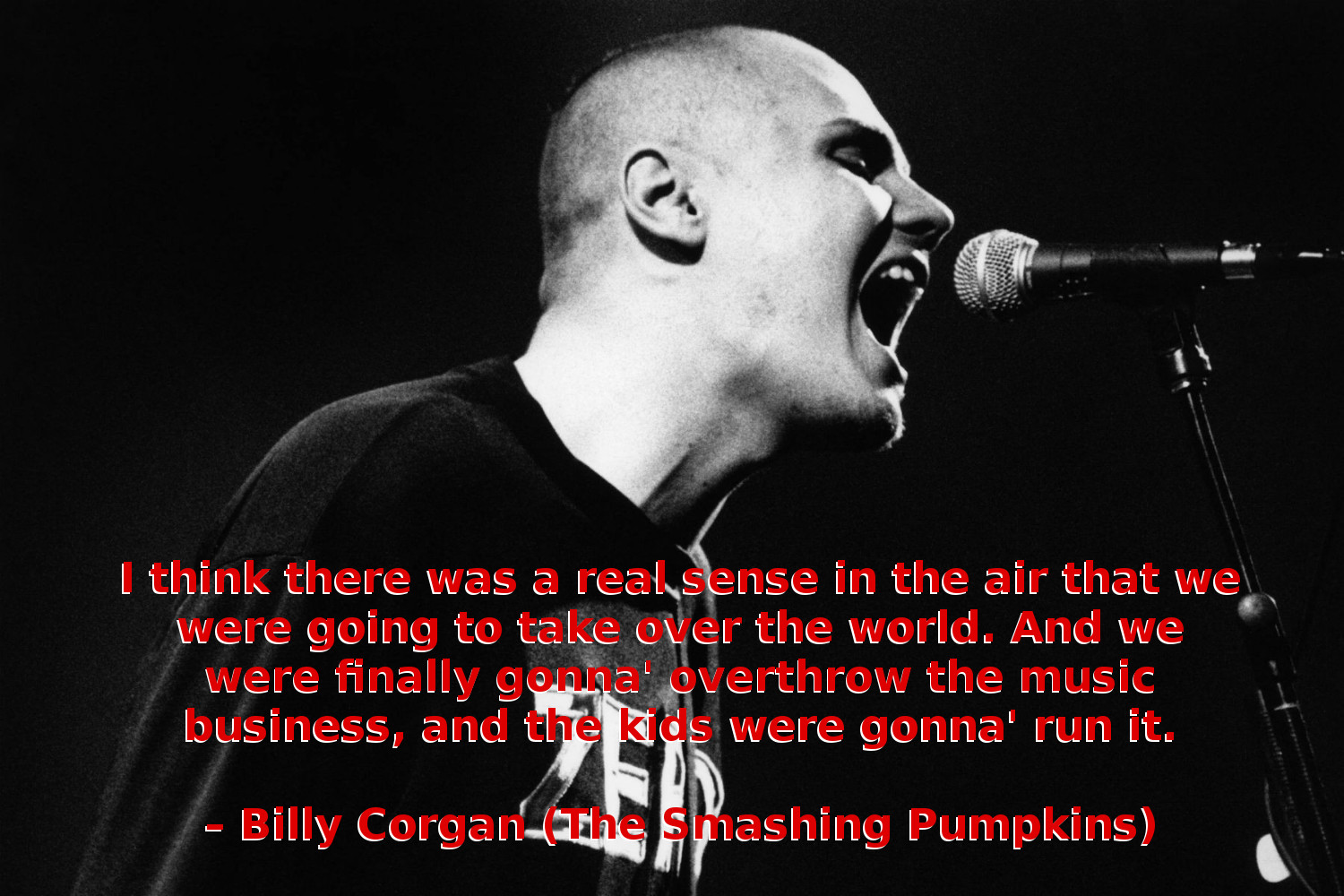 Billy Corgan on Seattle Grunge